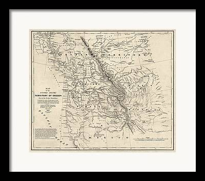 Pacific Northwest Drawings Framed Prints