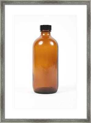 Antique Medicine Bottle Framed Print by Gregory Davies / Medinet Photographics