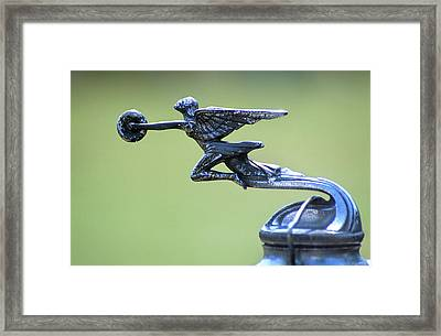Antique Packard Automobile Hood Ornament Framed Print