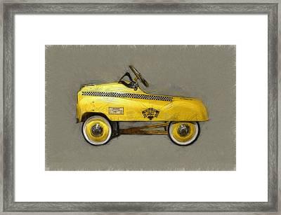 Antique Pedal Car Lll Framed Print