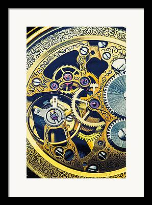 Chronometer Framed Prints