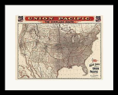 Union Drawings Framed Prints