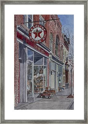 Antique Shop Beacon New York Framed Print by Anthony Butera