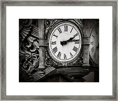 Antique Time Framed Print by April Lee