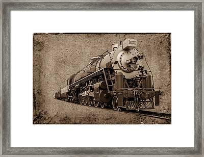 Antique Train Framed Print by Doug Long