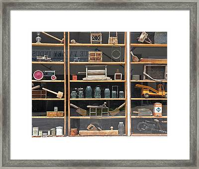 Framed Print featuring the photograph Antique Visual by Christopher McKenzie