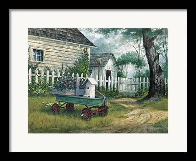 Antique Wagon Framed Prints