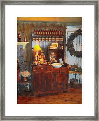 Antiques And Fragrances Framed Print by Glenn McCarthy Art and Photography