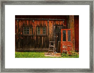 Antiques Framed Print by Michael Porchik