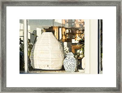Antiques Framed Print by Tom Gowanlock