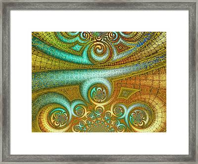 Antiquity's Gold 2 Framed Print by Wendy J St Christopher