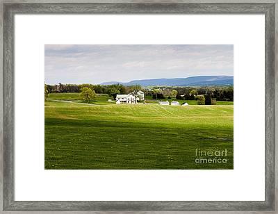Antietam Battlefield Framed Print