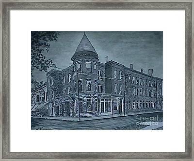 Antler Hotel Framed Print