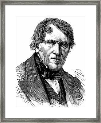 Antoine Cesar Becquerel Framed Print by Universal History Archive/uig