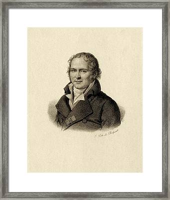 Antoine Fourcroy Framed Print by Chemical Heritage Foundation