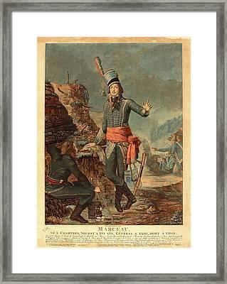 Antoine-françois Sergent, French 1751-1847 Framed Print