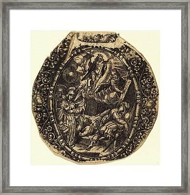 Antoine Jacquard, French Died 1652, The Resurrection Framed Print
