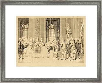 Antoine-jean Duclos After Vicomte Charles Henri Desfosses Framed Print by Quint Lox