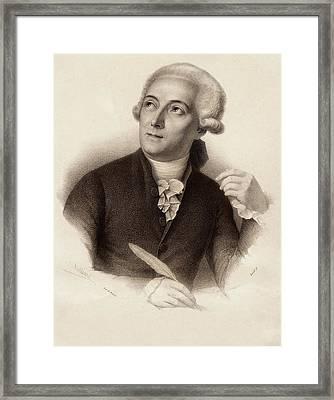 Antoine Lavoisier Framed Print