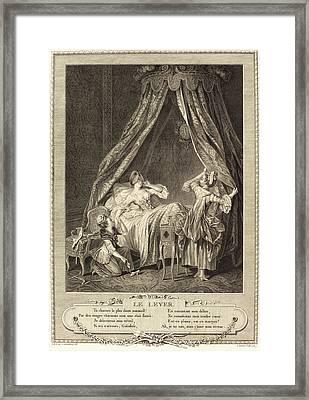 Antoine Louis Romanet After Sigmund Freudenberger Framed Print by Litz Collection
