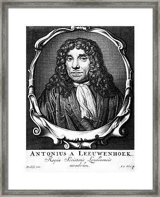 Anton Von Leeuwenhoek Framed Print