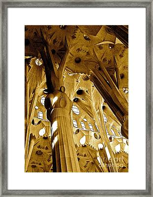Antoni Gaudi Rythmes   Framed Print