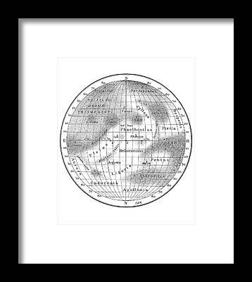Synchronous Rotation Framed Prints