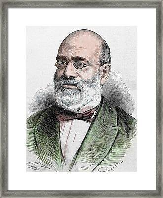 Antonio Aparisi Guijarro (1815-1872 Framed Print by Prisma Archivo