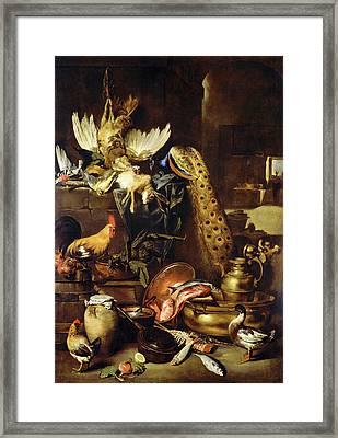 Antonio Maria Vassallo, The Larder, Italian Framed Print by Litz Collection
