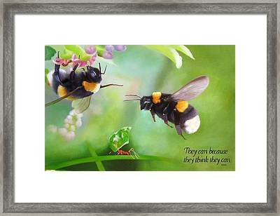 Ants Bees Framed Print by Anny Huang
