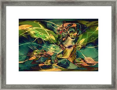 Antsy Congregation Framed Print