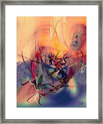 Antsy Dance Framed Print