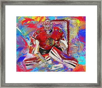 Antti Raanta Framed Print by Donald Pavlica