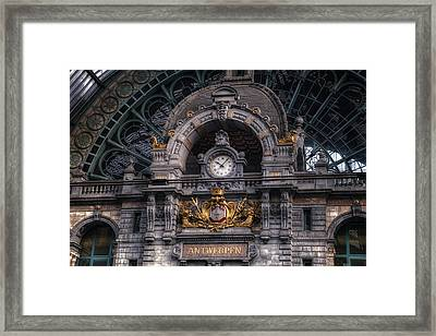 Antwerp Central Framed Print