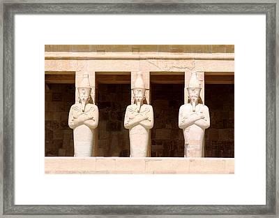Anubis Framed Print by A Rey