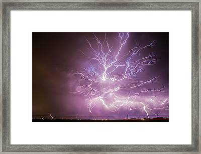 Anvil Crawlers Framed Print