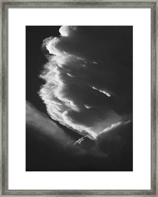 Framed Print featuring the photograph Anvil by Scott Rackers