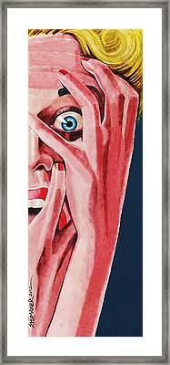 Anxiety Framed Print by David Shumate