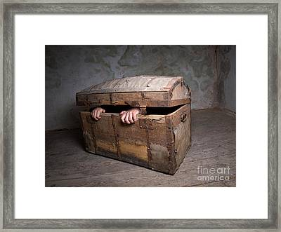 Anxiety Framed Print by Sinisa Botas