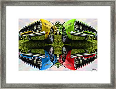 Any Flavor You Like Framed Print by Gordon Dean II