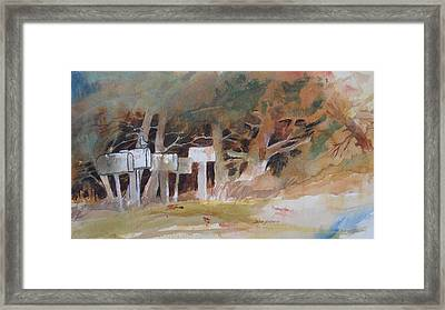 Any Mail Today? Framed Print by John  Svenson