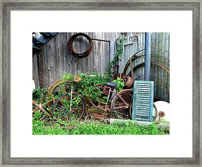 Any Old Iron Framed Print by Richard Reeve