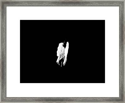 Framed Print featuring the photograph Anyas Wings  by Jessica Shelton
