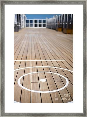 Anyone For Quoits Framed Print