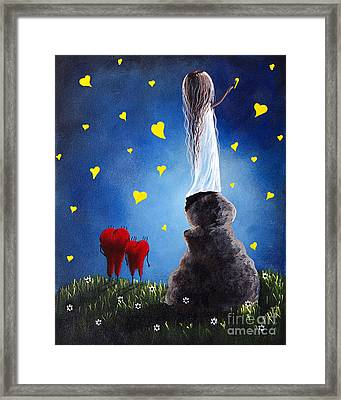 Anytime You Need A Friend By Shawna Erback Framed Print by Shawna Erback