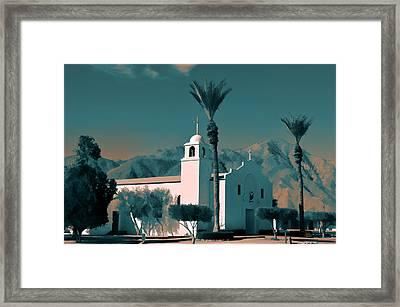 Anza Borrego Desert Church Framed Print