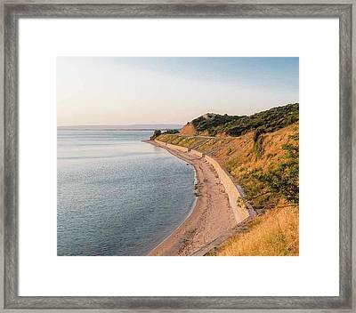 Anzac Cove, Gallipoli, Turkey Framed Print by Ken Welsh