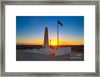 Anzac Memorial Framed Print by Bill  Robinson