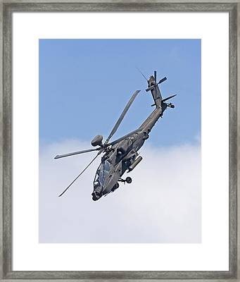 Apache Attack Helicopter Framed Print