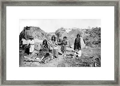 Apache Group, C1909 Framed Print